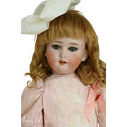 "Antique German Bisque Doll Marked ""O"", 14 IN"