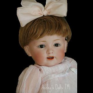 Antique Kestner 220 Toddler Doll, 11 IN, Antique German Bisque Doll, Slant Hips