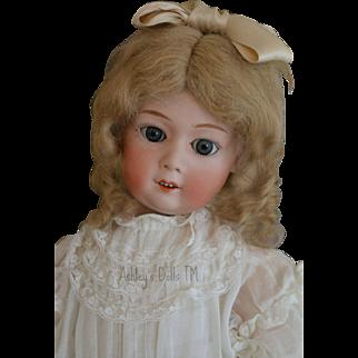 Antique Gebruder Heubach 8192 Doll, 21 IN, Antique German Bisque Doll