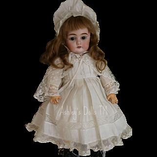 Antique Kestner 143 Doll, 13 1/2 IN, Antique German Bisque Doll Plaster Pate