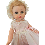 Vintage Madame Alexander Little  Genius Doll, 1950's All Original Tagged, 7 1/2 IN