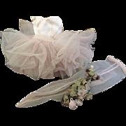 Vintage Madame Alexander Cissette Pink Ballerina Tutu 1960 Cissette Ballerina