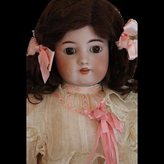 Antique Simon & Halbig 570 German Bisque Doll, 22 IN Antique Simon & Halbig Dol