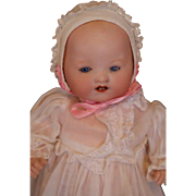 Antique Armand Marseille 351 Doll, 8 1/2 IN, Antique German Bisque Doll, Baby!