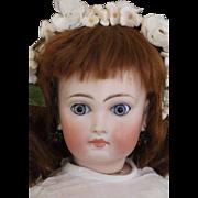 "Antique Sonneberg Doll 15"" Antique ""Belton-Type"" German Bisque Doll Closed Mouth"