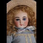 """Antique Sonneberg Doll, 11"""" Antique Belton Type Doll, Petite Antique Bisque Doll"""