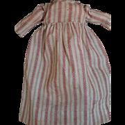 Antique Doll Dress, Antique Cotton Print Doll Dress, 1890's, Antique Dress