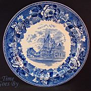 Staffordshire Commemorative Plate - Trinity Church, Boston