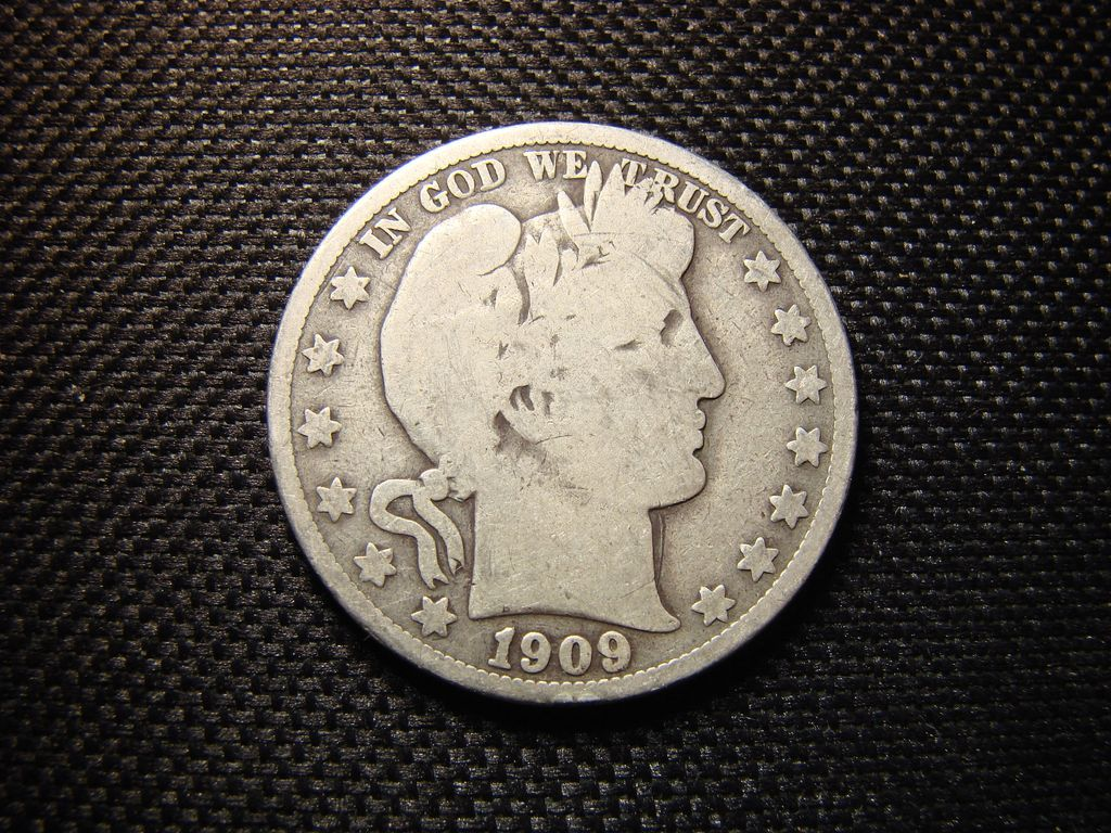 Pair Of Barber Half Dollars From Rubylane Sold On Ruby Lane