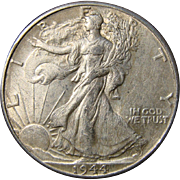 World War II Silver Half Dollars