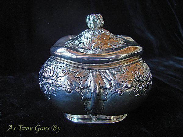 Antique Sterling Silver Tea Caddy - Gorham