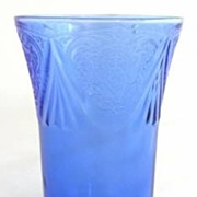 Royal Lace 9 oz. Tumbler Cobalt Blue