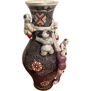 "Vintage Chinese ""Children Playing"" Vase with Tongzhi Mark 1862-1874"