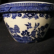 Blue Willow Pudding Mold English 4 3/4""