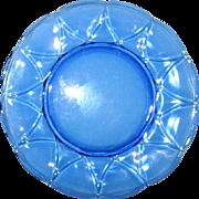 Newport or Hairpin Dinner Plate Cobalt Blue Hazel Atlas 1936-1940 Exc. Cond.