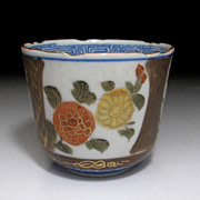 Antique Japanese Imari Soba Cup c.1875, Sake, Tea