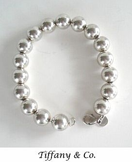 Vintage Chunky Tiffany Co Sterling Silver Bracelet Round Beads A Le In Time Jewelry Collectibles Ruby Lane