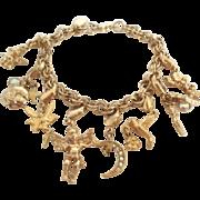 Vintage Kirks Folly Charm Bracelet Removable Charms