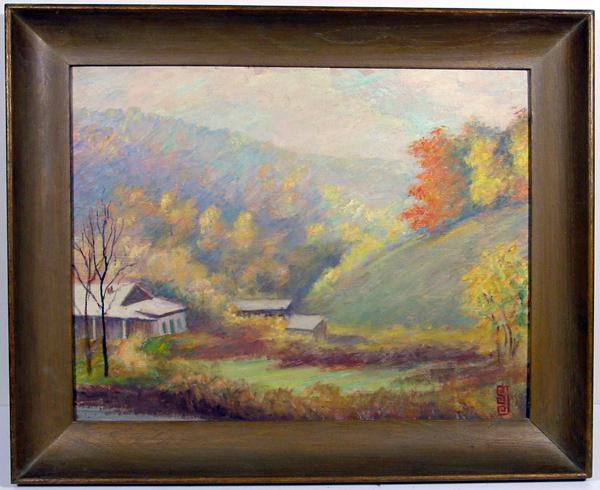 Fine Early 20th Century Landscape by Hoosier Artist Lola St. John