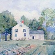 Impressionistic Rendering of a Country Home by Laura S. Hollinger