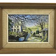 "Landscape Oil Painting  ""Sadgill Longsleddal"" by Marion Bradley"