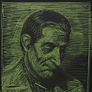 Portrait of a Pensive Man by Ohio Artist Victor Keuping c. 1930