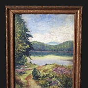 Early 20th Century American Landscape Signed Ripper
