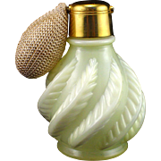 Devilbiss Yellow Fenton Feather Atomizer Perfume