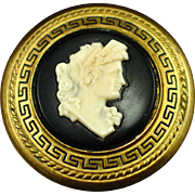 1939 Gone With the Wind Scarlett Ohara Cameo Brooch Lux Soap Premium