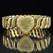 WW2 Era Carmen Expansion Sweetheart Bracelet