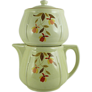 Hall's Autumn Leaf Jordan All China 5 Cup Coffee Pot