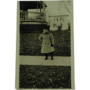 Real Photo Post Card RPPC of Young Girl