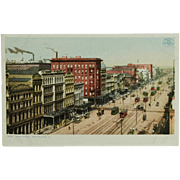 Detroit Photographic Co. Canal Street New Orleans Phostint