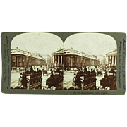Keystone View Company Stereoview 3004 The Bank of England