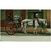 New Orleans Raphael Tuck & Sons Creole Milk Maid