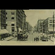 Seattle Washington First Avenue Exelsior Undivided Back Post Card