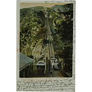 Mount Lowe Railway Great Incline Undivided Back Post Card