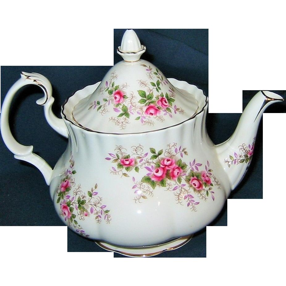 Royal Albert Lavender Rose 4 Cup Teapot Sold On Ruby Lane