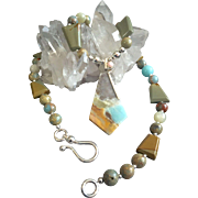 Jasper Melange Necklace, 23 Inches