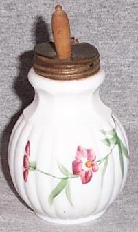 Vintage Milk Glass Mustard Jar