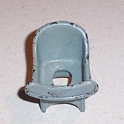 Kilgore Cast Iron Doll House Furniture Potty Seat