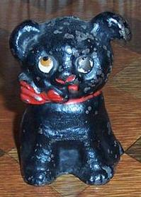 Antique Hubley Cast Iron Cutie Dog Bank