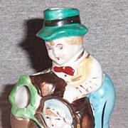 Vintage Peter Pumpkin Eater Toothbrush Holder
