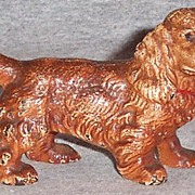 Hubley Cast Iron Cocker Spaniel Paper Weight