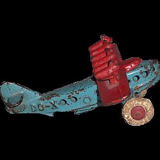 Hubley Cast Iron DO-X Airplane