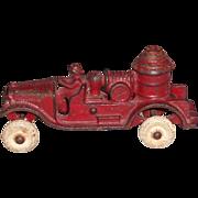 Hubley Cast Iron Fire Pumper Truck