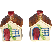 Shawnee Cottage Salt and Pepper Shakers