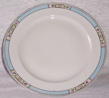 Vintage Hand Painted Nippon Salad Plate