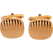 Kreisler Gold Filled Gents Cufflinks