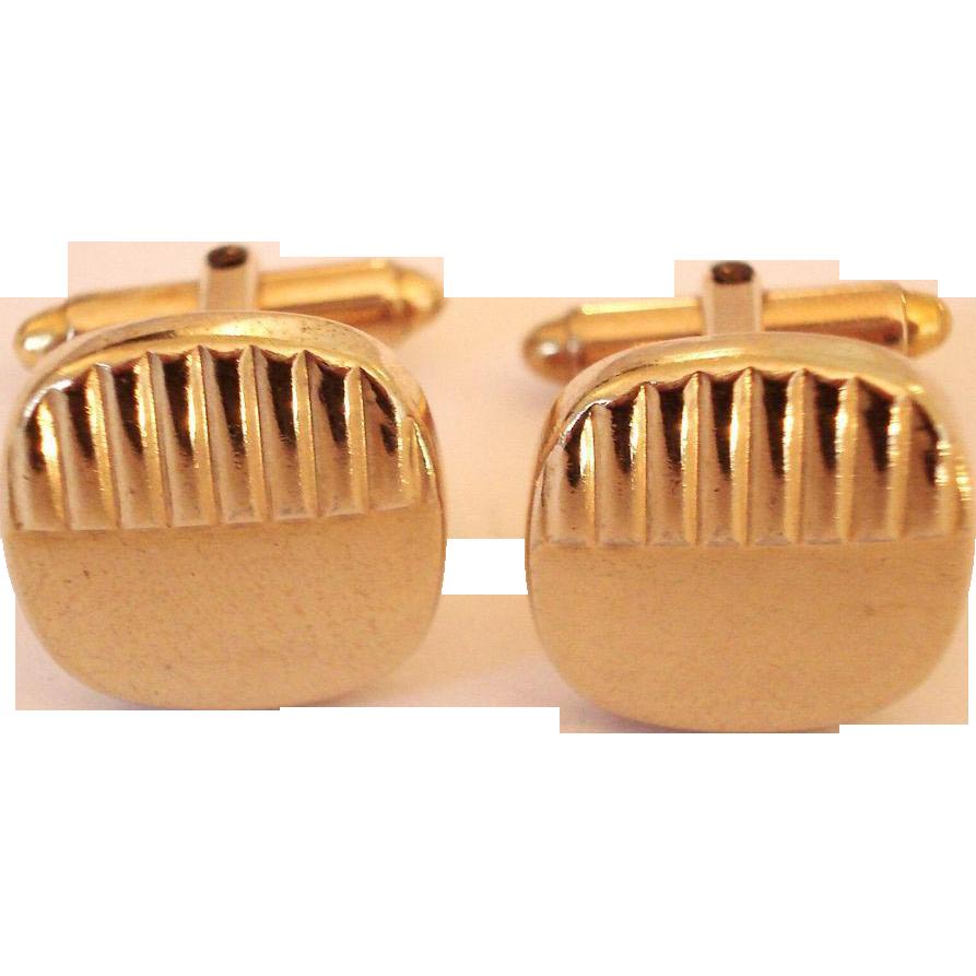 Kreisler Gold Filled Gents Cufflinks